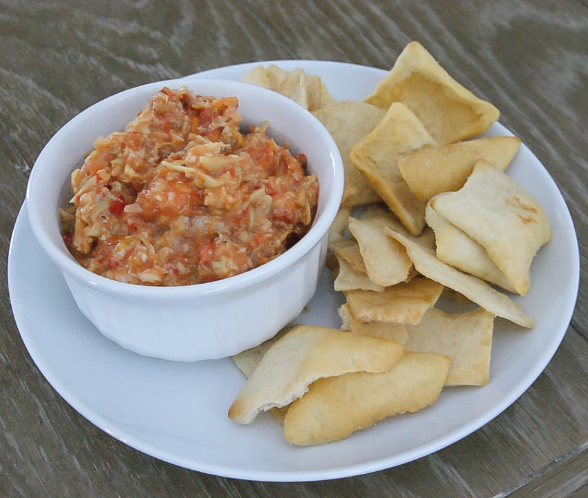 Artichoke and Oven Roasted Tomato Dip - MADE BY MICHELLE