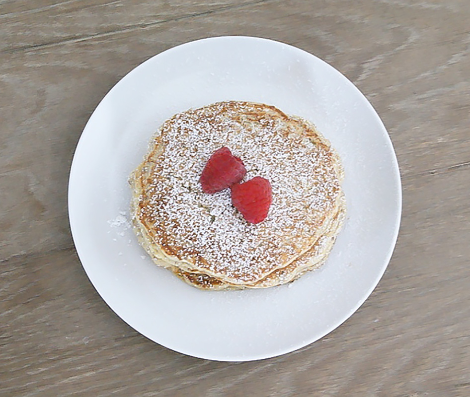 Lemon Ricotta Pancakes - Made By Michelle